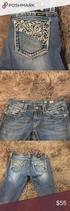 Miss me jeans Medium wash Miss Me Jeans Straight Leg