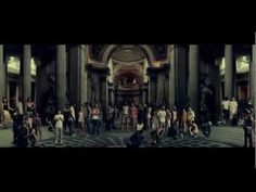 Raphael's School of Athens... it's right there on the TShirt  alt-J - Tessellate [OFFICIAL VIDEO]