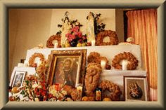 St. Joseph Altar for Feast Day - this website lists all the traditional recipes from Sicily