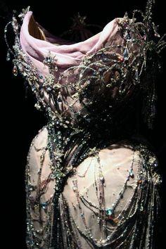 festival for fashion & photography Mr Pearl Corset Corset Bustier, Burlesque Corset, Corset Tops, Ethel Granger, Mr Pearl, Stella Tennant, Modelista, Textiles, Costume Design