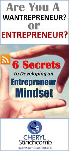 6 Secrets to Developing an Entrepreneur Mindset