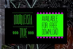 Dooodleista Type Handmade Free Font 15 Stylish Free Fonts for Your 2014 Projects