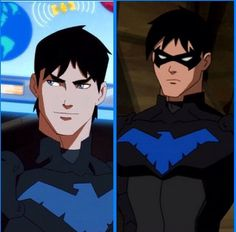 Oh look it's Dick Grayson *puts on mask* Oh, hello Nightwing. Where did Dick go?