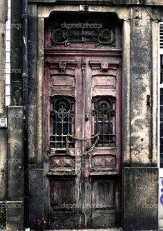 old doors have a story...wish they could tell me who has passed through them...