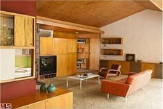 Very cool mid century modern home