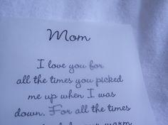 MOTHER POEMVelum Rub On PoemScrapbooking by KornerCraftSupply, $2.00