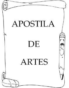 Apostila de Artes Arte Online, E Piano, Professor, Homeschool, Album, Education, Learning, Books, Gabriel