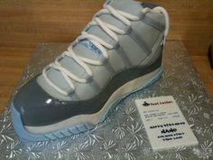 Michael Jordan Tennis Shoe Cake