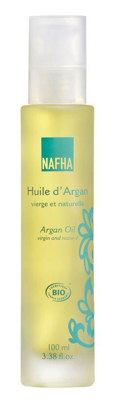 NAFHA 100% luomu Arganöljy 100 ml
