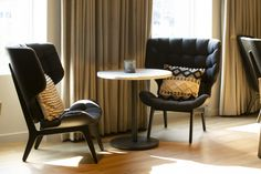 Photo Gallery | Stamford, CT Boutique Hotel The Lloyd Lobby Lounge, Hotel Lobby, Brio, Stamford, Location, Decoration, Floor Chair, Photo Galleries, Dining Chairs