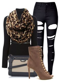Untitled #979 by mkomorowski on Polyvore featuring polyvore, fashion, style, Dsquared2, WithChic, Tignanello and clothing
