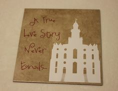 Vinyl: A true love story never ends, with LDS Temple! @VinylExpressions