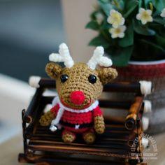 amigurumi reindeer - Saplanet Originals website