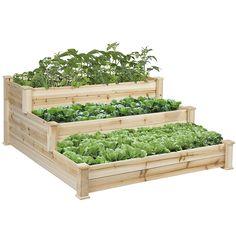 Resultado de imagem para raised vegetable garden