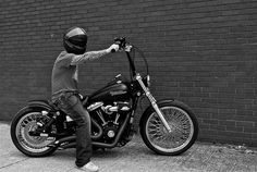 Dyna bobber rider