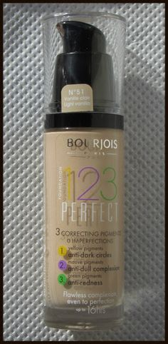 -: Bourjois 123 Perfect Foundation Review http://ninasbargainbeauty.blogspot.ie/2013/04/bourjois-123-perfect-foundation-review.html