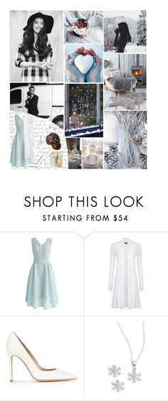 """""""YAAMS l Christmas Party l Cora Knightly"""" by grace-food-lover ❤ liked on Polyvore featuring Chicwish, Phase Eight, Gianvito Rossi and Lord & Taylor"""