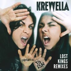 """""""Somewhere to Run - Lost Kings Nu Disco Remix"""" by Krewella added to Liked Music 2 playlist on Spotify"""