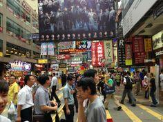 Mong Kok, Hong Kong.... busy!!