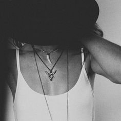 Love the necklaces.