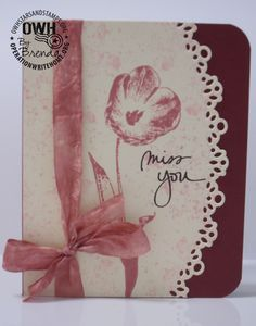 so elegant, great for Love, MissU,sympathy cards