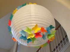 14 Hungry Caterpillar paper lantern butterfly by New8eginnings, $24.08