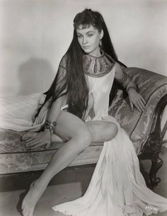 """Yvonne Furneaux in Hammer's version of """"The Mummy"""""""