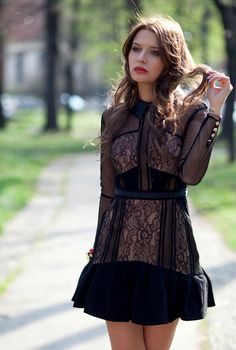 The Fashion Fruit STYLIGION, SELF PORTRAIT DRESS, VERONICA FERRARO,