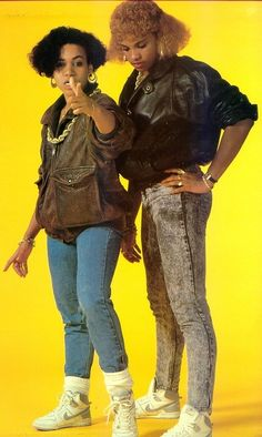 Inspiration today: Salt-n-Pepa