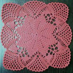 Free Crochet Doily Patterns, Crochet Lace Edging, Crochet Blocks, Crochet Squares, Thread Crochet, Filet Crochet, Crochet Doilies, Merian, Crochet Dishcloths