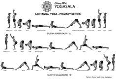 ashtanga vinyasa yoga primera serie 1  yoga  yoga