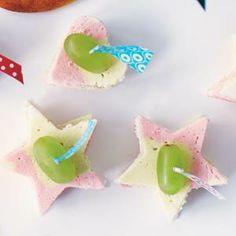 Kokosbroodhapjes - Leuk om met uitsteekvormpjes te maken met kinderen. #uitsteekvormpjes #kinderen