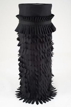 Palden Weinreb, A Blooming Cloak, 2014, mixed media, 137 x 43 cm (54 x 17 in)