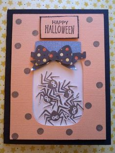 Halloween Shaker Card by Butterflyjy1883 - Cards and Paper Crafts at Splitcoaststampers