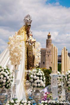 Las Fotografías de Bandera: La Virgen del Carmen de Bonanza