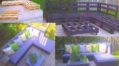 Pallet furniture!!
