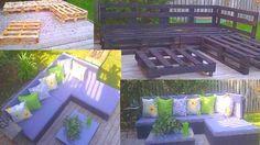 Pallet furniture!!