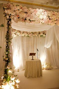 Chuppa by David Beahm Design #wedding #decor