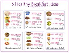 Healthy breakfast ideas (PIC) & 5 healthy breakfast foods to help you lose weight (Link)