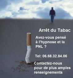 Arrêt du tabac , sans effets de manque avec l'hypnose et la PNL...