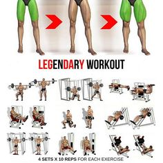 Legendary workout step by step guide