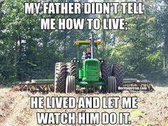 Happy Original photo submitted by Mark Vaessen. Country Girl Life, Country Girl Quotes, Country Girls, Country Living, Farm Life Quotes, Farmer Quotes, Farm Sayings, Farm Jokes, Farm Humor