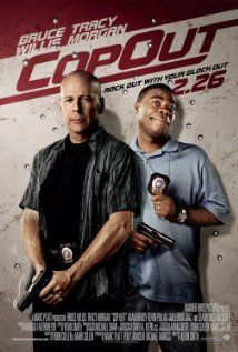 """""""Cop Out"""" (dir. Kevin Smith, 2010) --- A comedy about a veteran NYPD cop (Bruce Willis) whose rare baseball card is stolen. Since it's his only hope to pay for his daughter's upcoming wedding, he recruits his partner (Tracey Morgan) to track down the thief, a memorabilia-obsessed gangster. MY RATING: 3.5/5 Stars"""