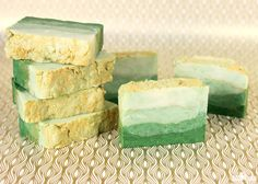 When you don't have time to make cold process soap, hot process soap making is a good next choice. The extra heat speeds up the saponification process, which cuts down on cure time. Hot process soap only requires 1-2 days in the mold, even with palm-free recipes like this one.With St. Patrick's Day right around …
