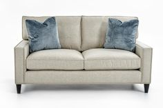 Signature Seating Customizable Loveseat by Bernhardt at Baer's Furniture