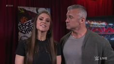 EXCLUSIVE: Shane McMahon and Stephanie McMahon - WWE work together to create an 8-Man Tag Team Match. #Raw Mcmahon Family, Shane Mcmahon, Stephanie Mcmahon, Wwe 2, Ready To Rumble, Nicole Scherzinger, 3 I, Working Together, Superstar