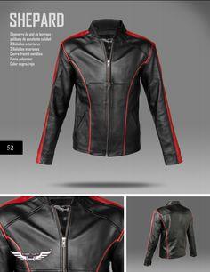 #Chaqueta modelo Comandante Shepard. Corte slim-fit. #moda