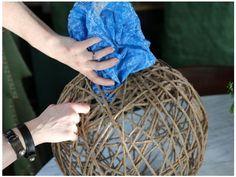 How to Make a Sisal Rope Pendant Light in 2020 Diy Luminaire, Diy Lampe, Homemade Chandelier, Diy Chandelier, Ballon Diy, Diy Furniture Decor, Nautical Furniture, Rope Pendant Light, Lampe Decoration