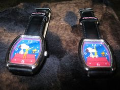 Lot of RARE PEANUTS SNOOPY & WOODSTOCK Watch 72NH00039 COLLECTIBLE #Peanuts #CartoonIdol Up for sale Take a LOOK