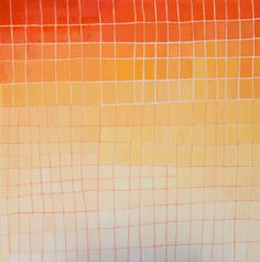 Daily Painters Abstract Gallery: ORANGE GRID, original abstract ...